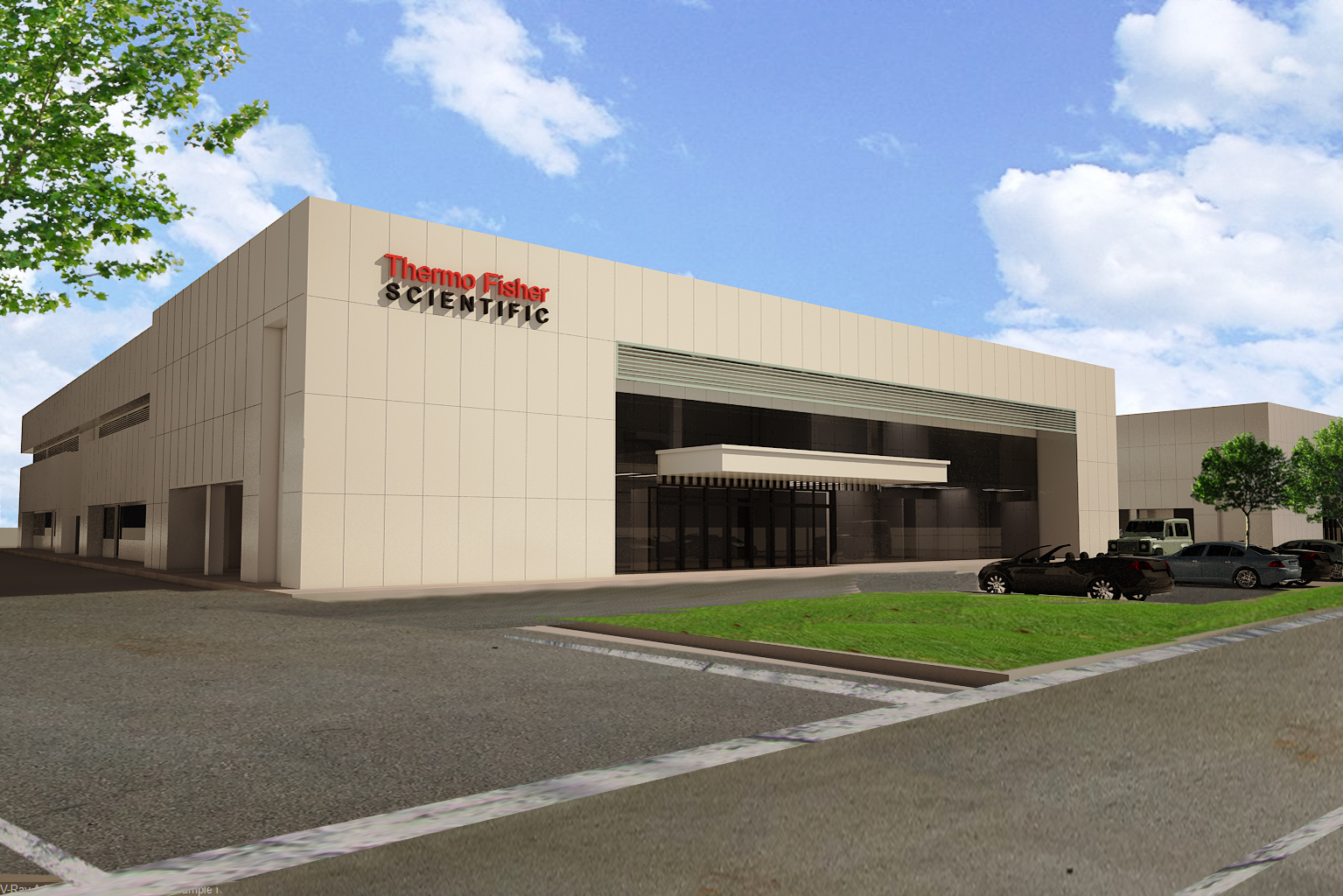 Thermo Fisher Scientific BioProduction Dry Powder Media Manufacturing Facility